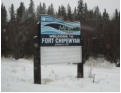 Fort Chip Signpost