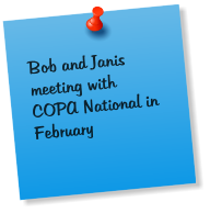 Bob and Janis meeting with COPA National in February